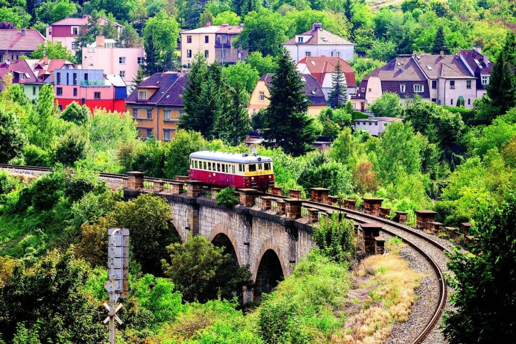 #3 of 16 Things to do in Prague – Ride a Train within Prague - Things to do in Prague