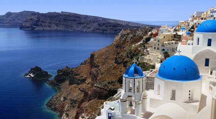 #4 of 15 Most Beautiful Islands in the World – Santorini, Greece - Most Beautiful Islands
