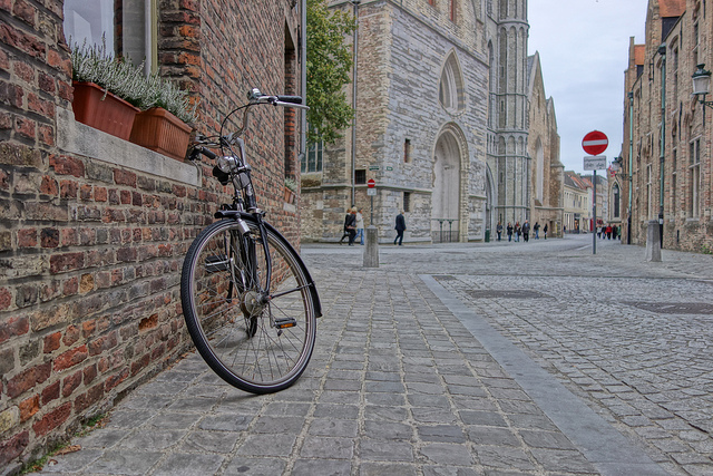 #4 of 15 Things to do in Bruges, Belgium – Hop on a Bike - Things to do in Bruges
