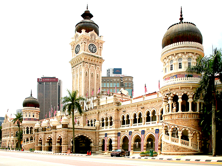 #5 of 15 Things to Do in Kuala Lumpur, Malaysia – Spend some time at the Sultan Abdul Samad Building - Things to Do in Kuala Lumpur