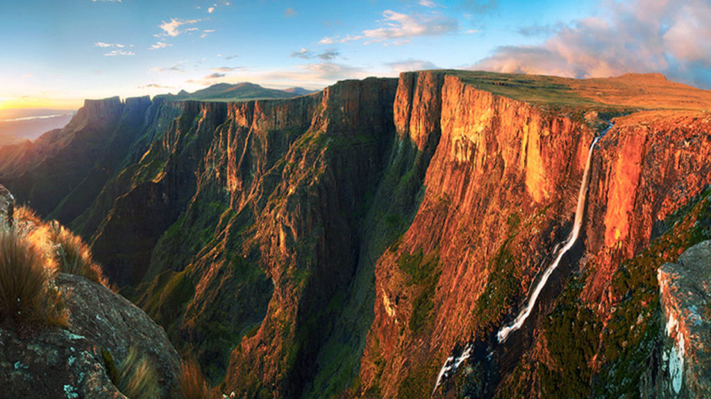 # 6 of 10 in Best Waterfalls in the World – Tugela Falls (South Africa) - Best Waterfalls in the World