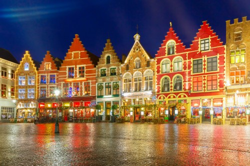 #6 of 15 Things to do in Bruges, Belgium – Walk along the colorful Markt - Things to do in Bruges