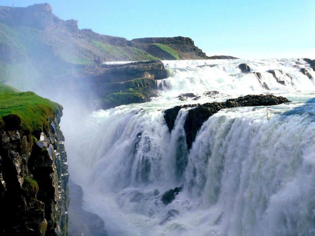 # 7 of 10 in Best Waterfalls in the World – Gullfoss Falls (Iceland) - Best Waterfalls in the World