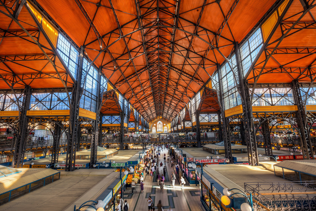 Central Market Hall, Things to do in Budapest