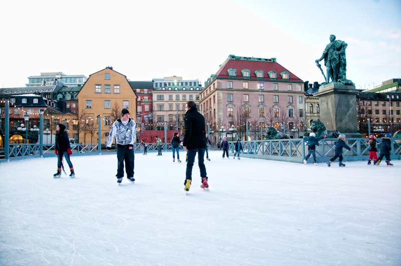 ice skating, Things to do in Stockholm