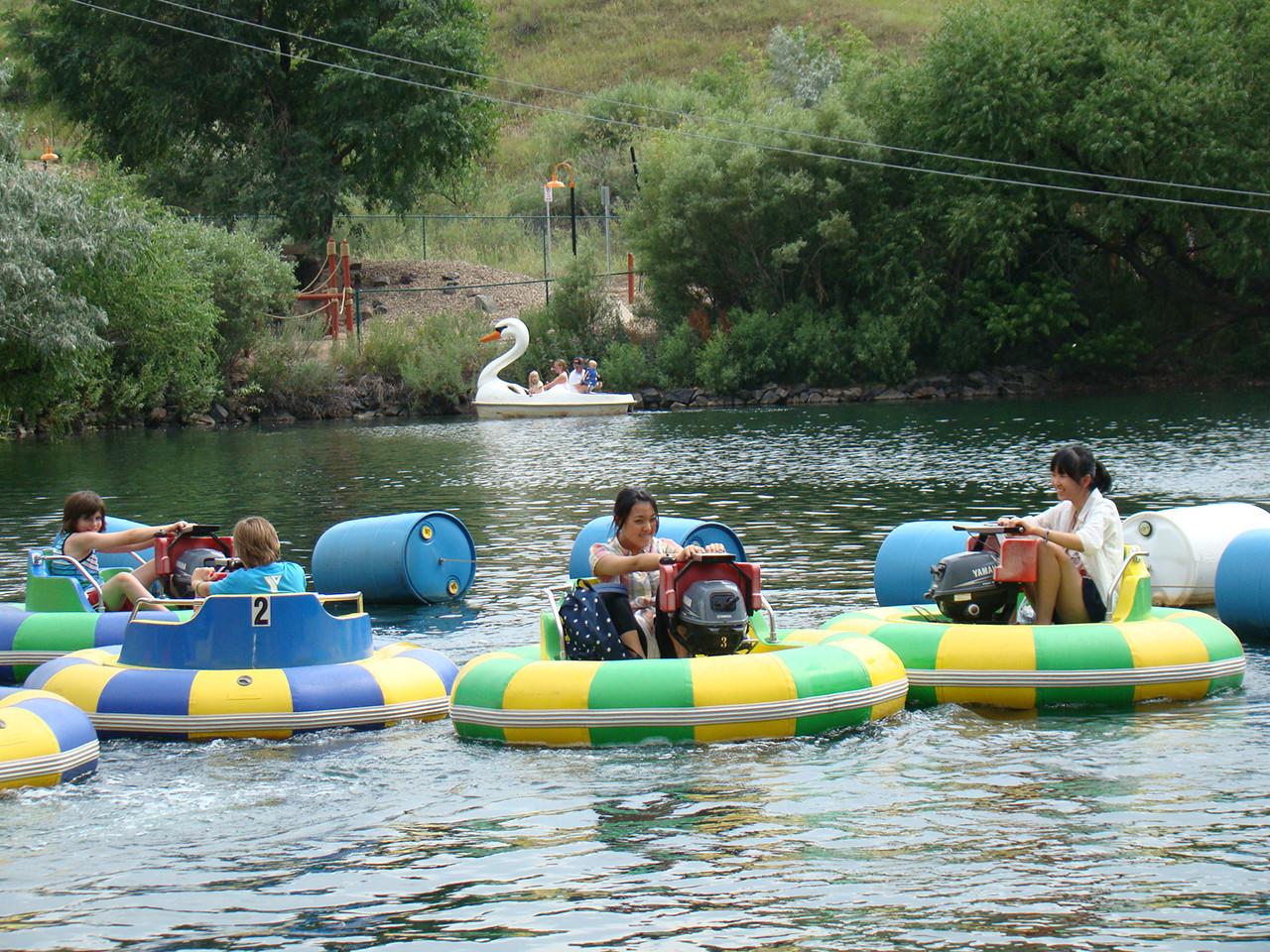 Limitation for Bumper Boats - bumper boats