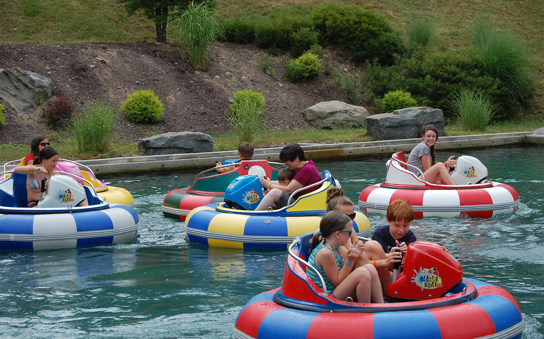 Pocono Mountain Adventures - bumper boats