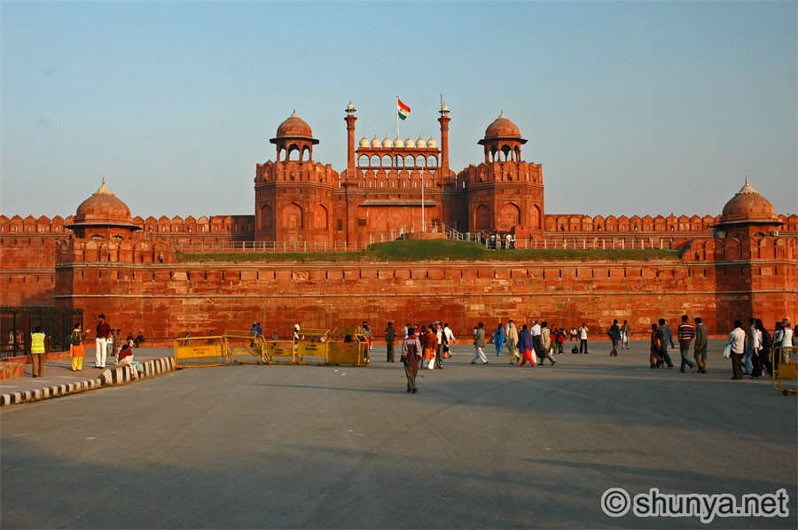 red fort, New Delhi, Points of Interest