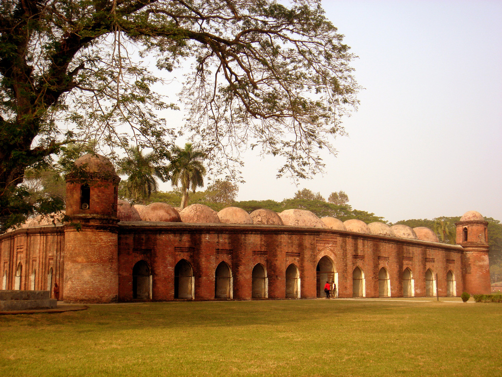 Shait-Gumbad-Masjid- Points of Interest in Dhaka