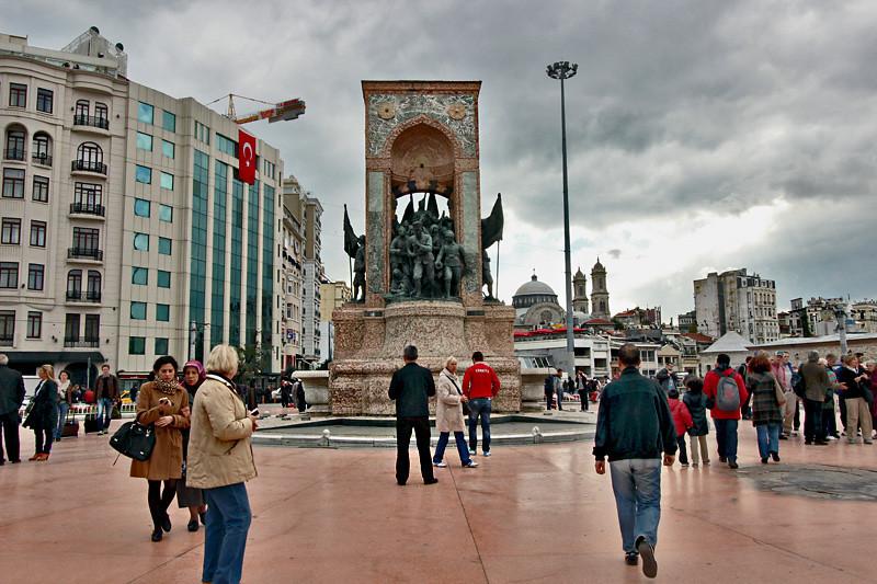 Taksim-Square, Istanbul Visiting Places