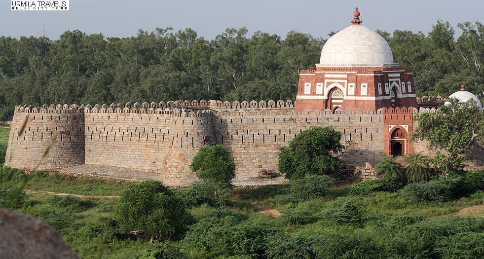 tughlaqabad-fort, Delhi, Points of Interest