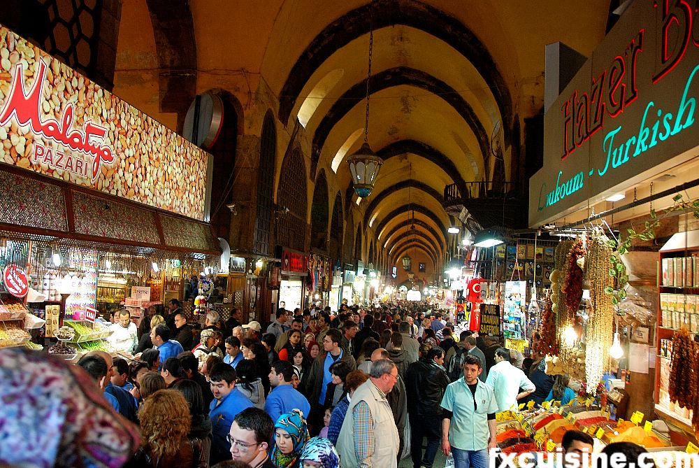 istanbul-egyptian-bazar, Istanbul Visiting Places