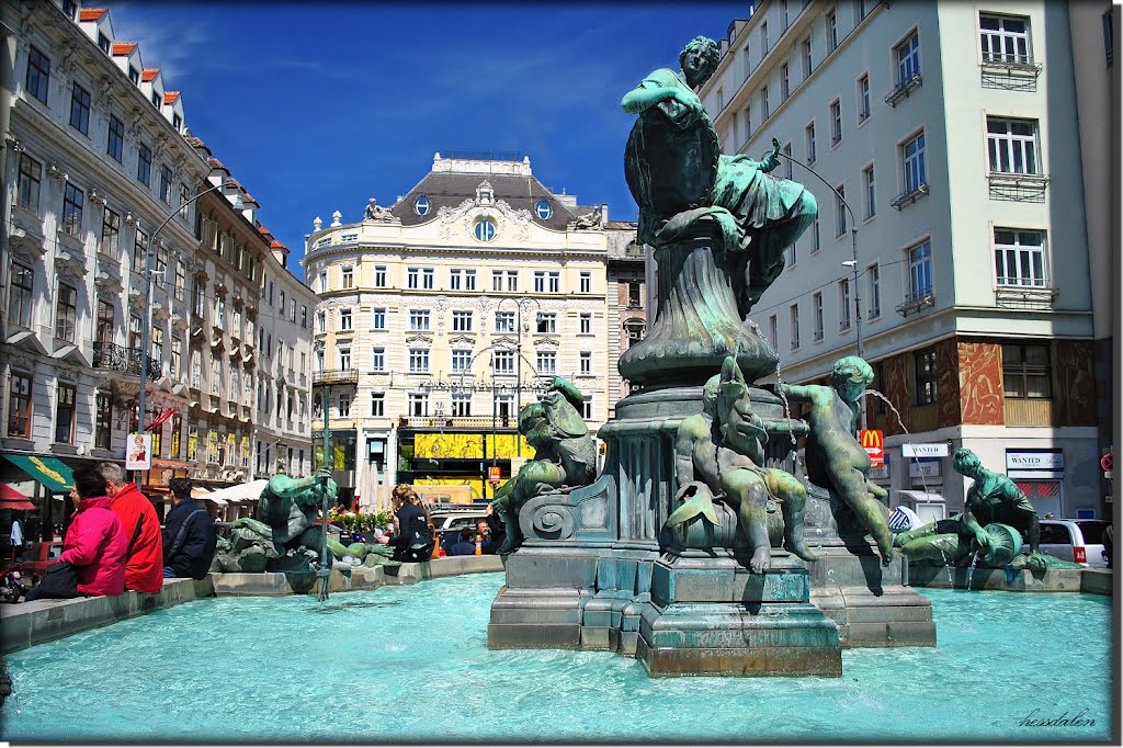 Donner Fountain, Things to do in Vienna