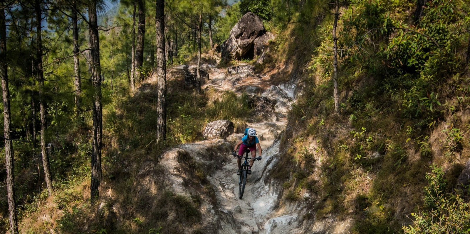 Boy Mountain Biking - things to do in Nepal