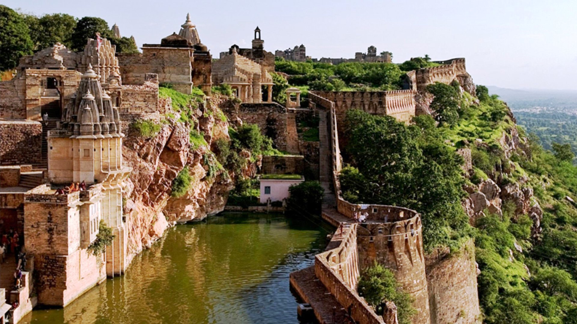 Chittorgarh Fort, India - places to visit in the world
