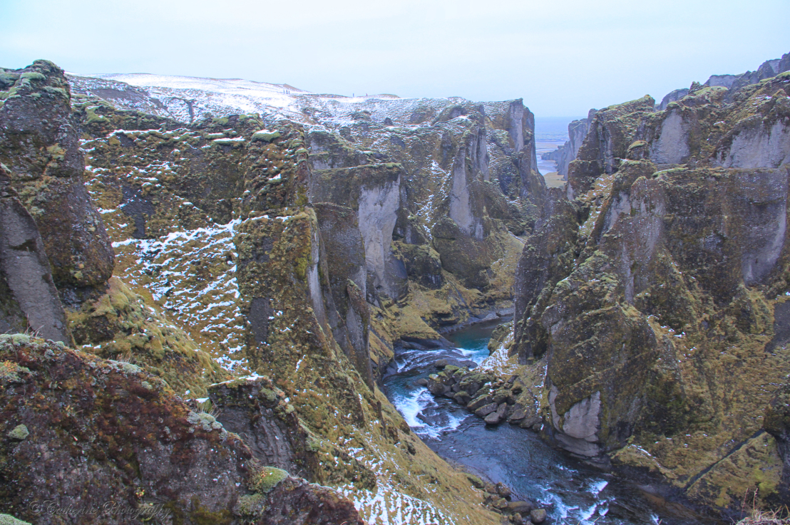 Fjadrargljufur Canyon, Iceland - places to visit in the world