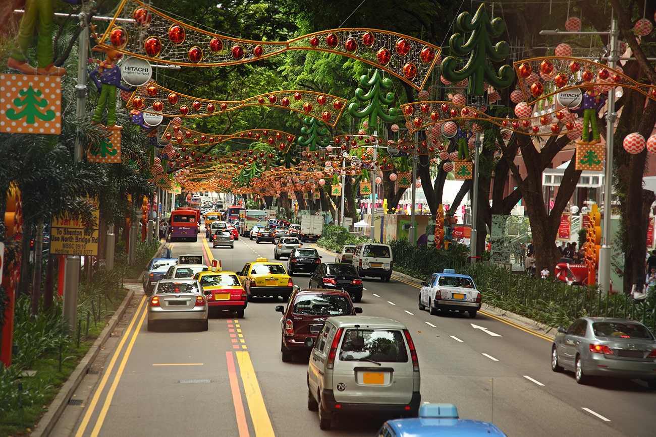 Orchard Road - Shopping - things to do in Singapore