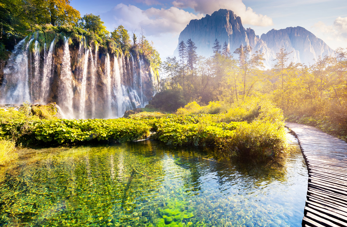 Plitvice Lakes National Park, Croatia - places to visit in the world