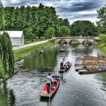 Punt along the Backs, Cambridge - things to do in England