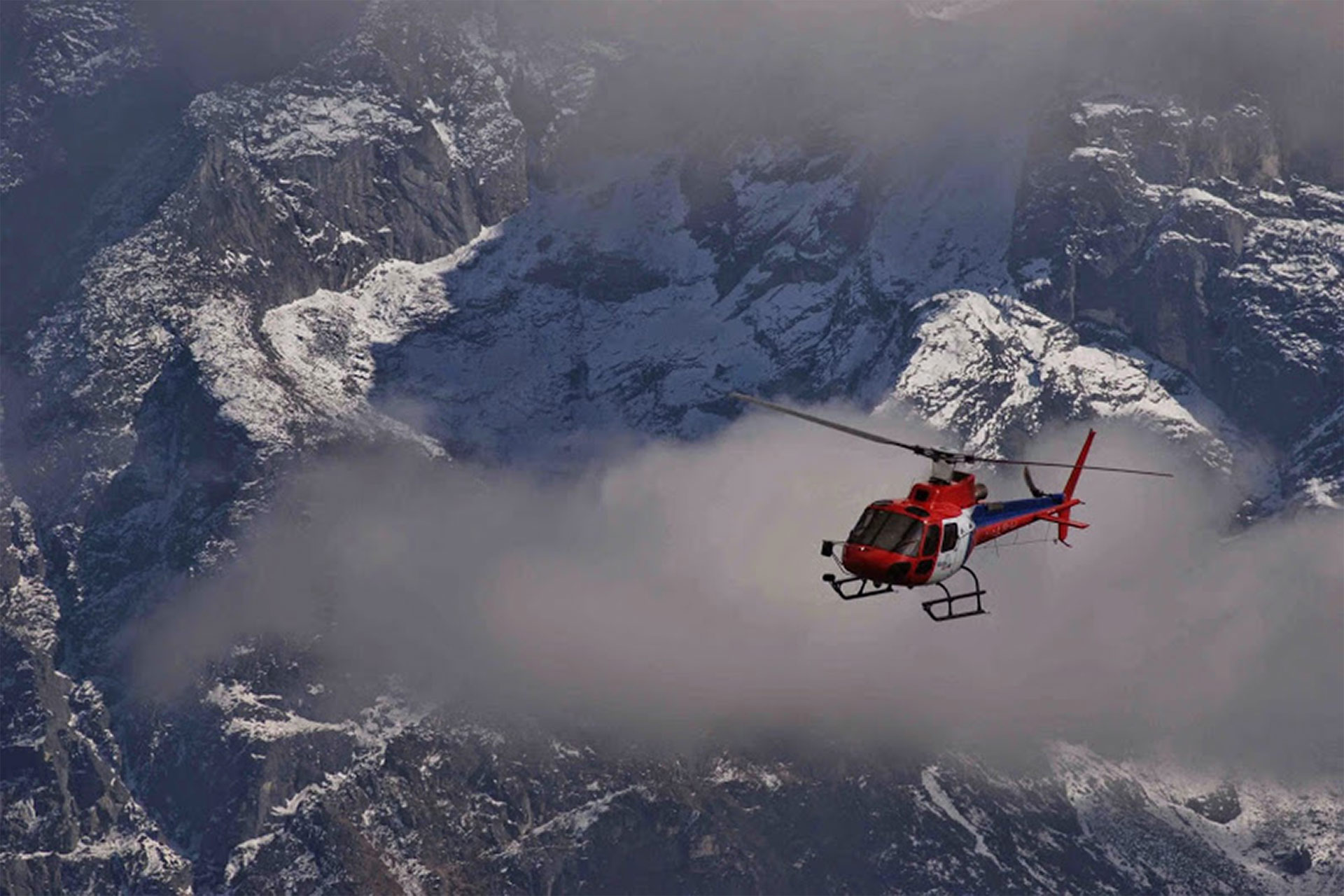 Red Helicopter - things to do in Nepal