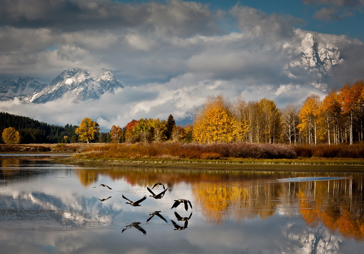 Stupendous Teton National Park, Wyoming - places to visit in the world