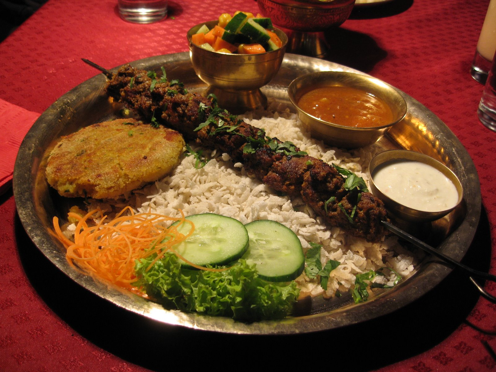 food dish - things to do in Nepal