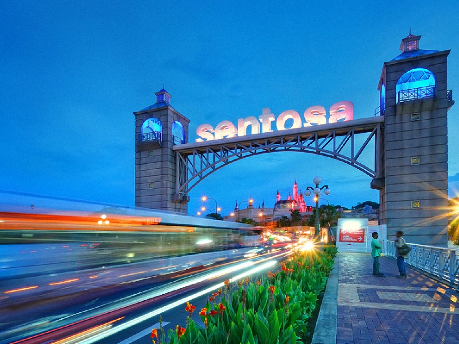 sentosa - things to do in Singapore