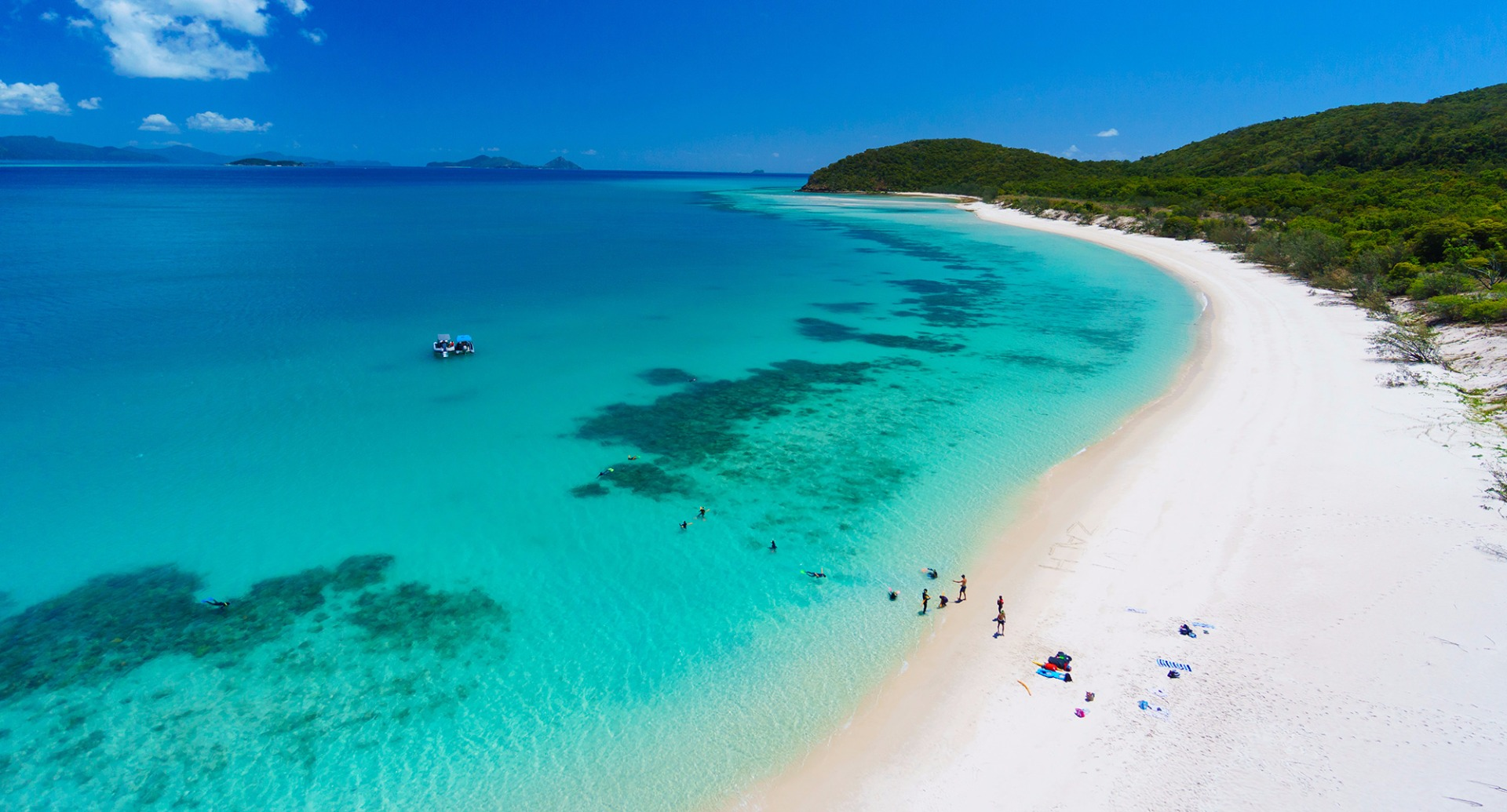 whiteheaven beach - places to visit in the World