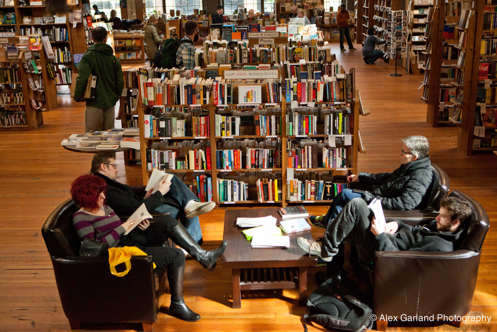 Elliott Bay Book Company, Unique things to do in Seattle