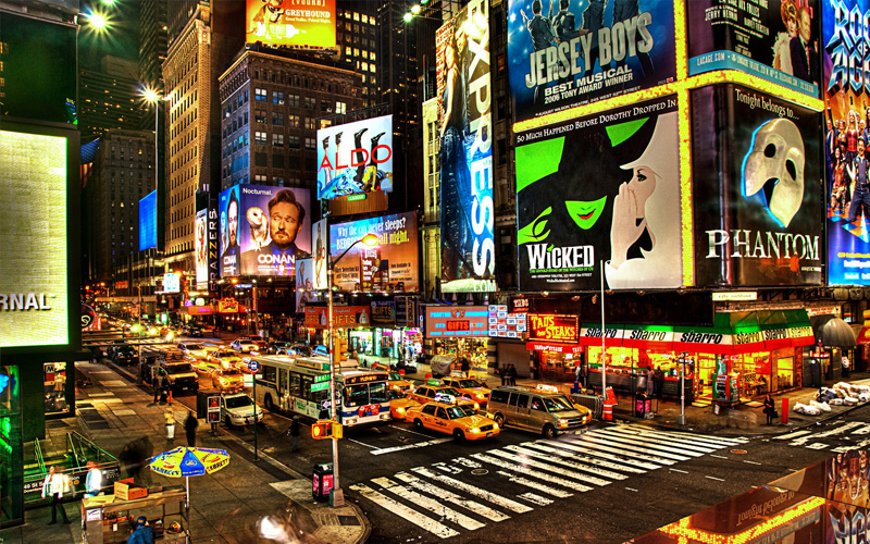 broadway night life, Unique things to do in New York