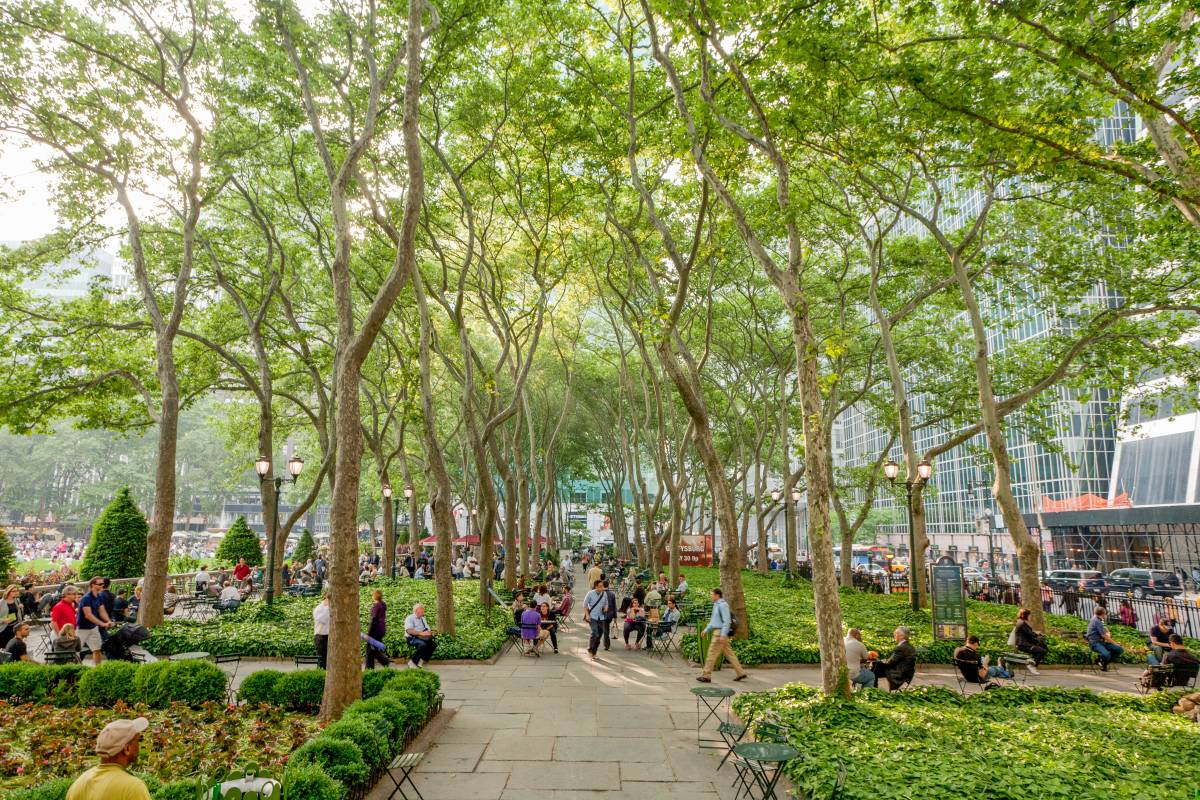 Bryant Park, Unique things to do in New York
