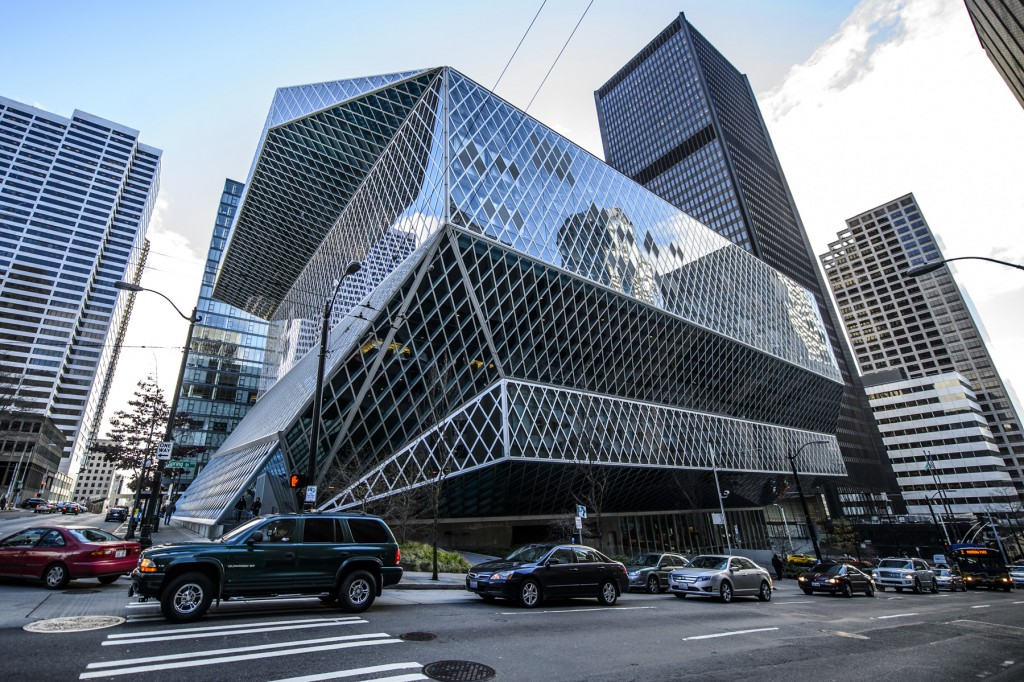 seattle-public-library- Unique things to do in Seattle