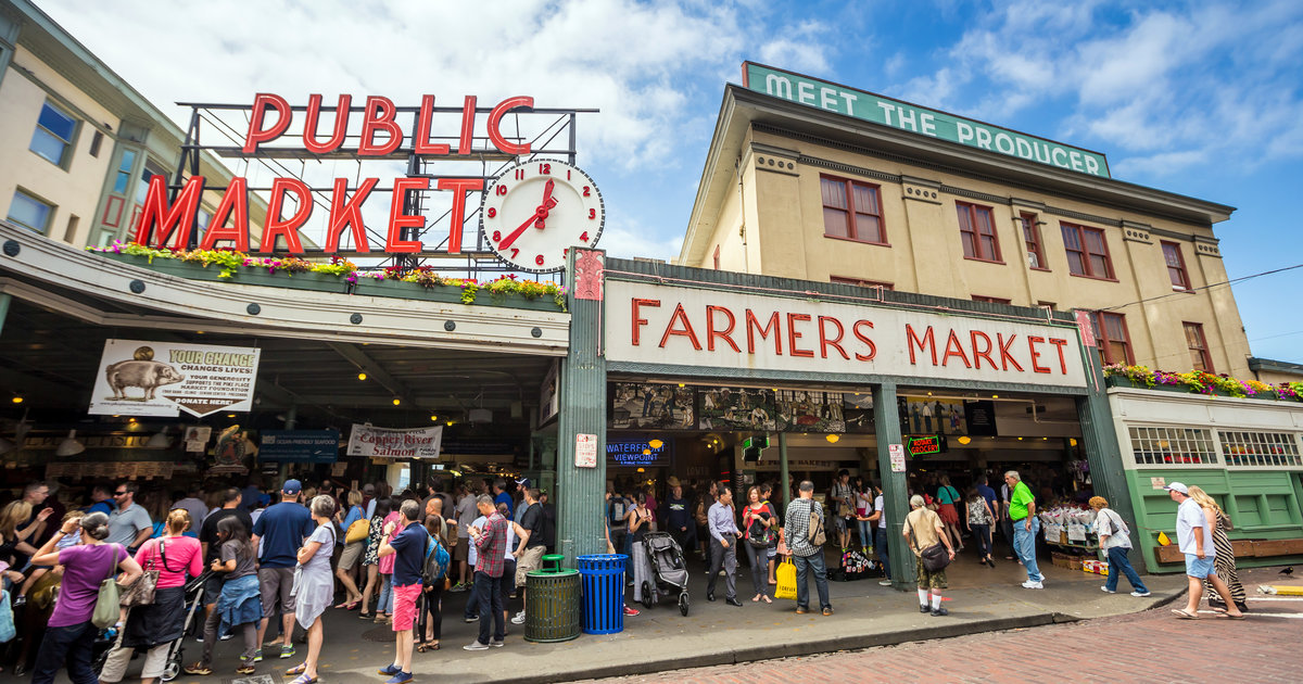 Pike place market, Unique things to do in Seattle