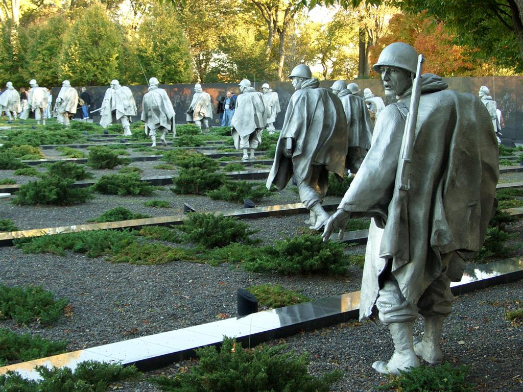 Vietnam and Korean War Veterans Memorials, Unique things to do in Washington, DC