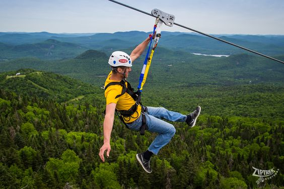 ziptrek ecotours, Things to do in Mont Tremblant