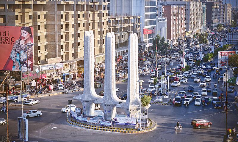 Teen Talwar Monument, Things To do in Karachi