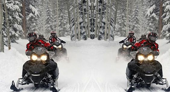 snowmobiles, Things to do in Mont Tremblant