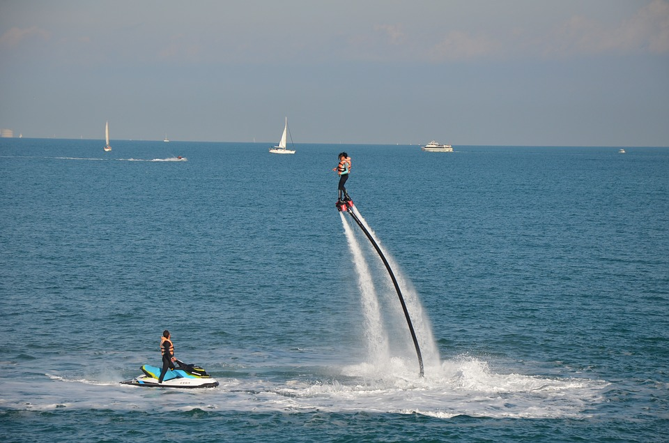 flyboard, Things to do in Mont Tremblant