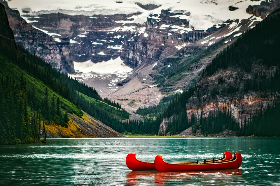 canoeing, Things to do in Banff