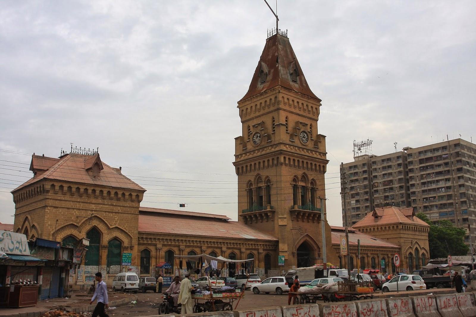 empress market, Things to do in Karachi