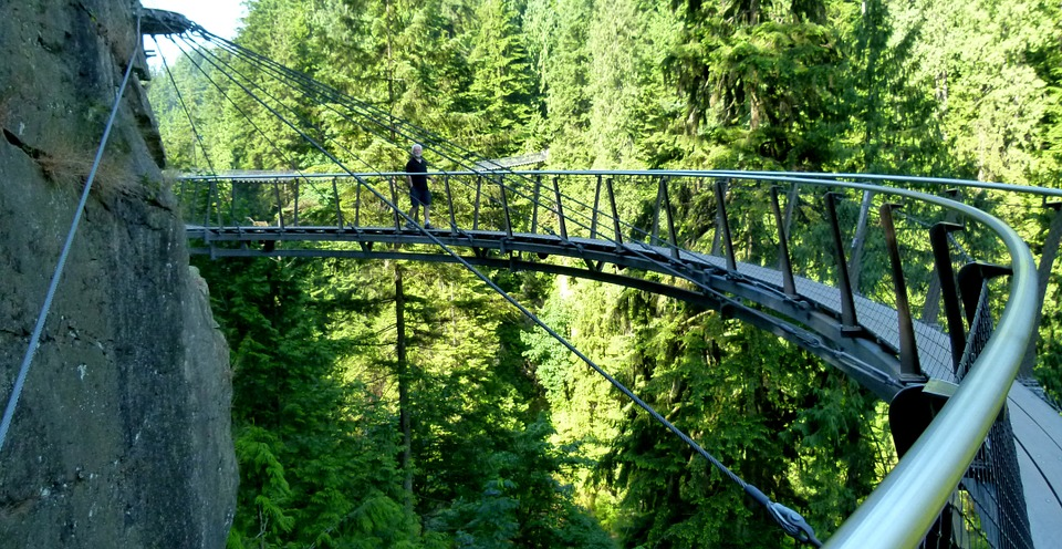 British Columbia Cliffwalk Capilano Vancouver, Things to do in Vancouver