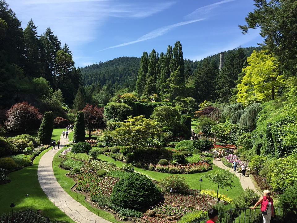 butchart gardens, Things to do in Victoria, Canada