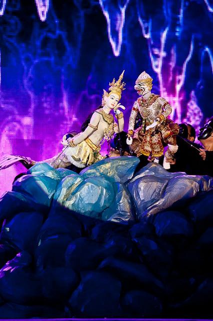 Puppet show - Bangkok - things to do in Bangkok