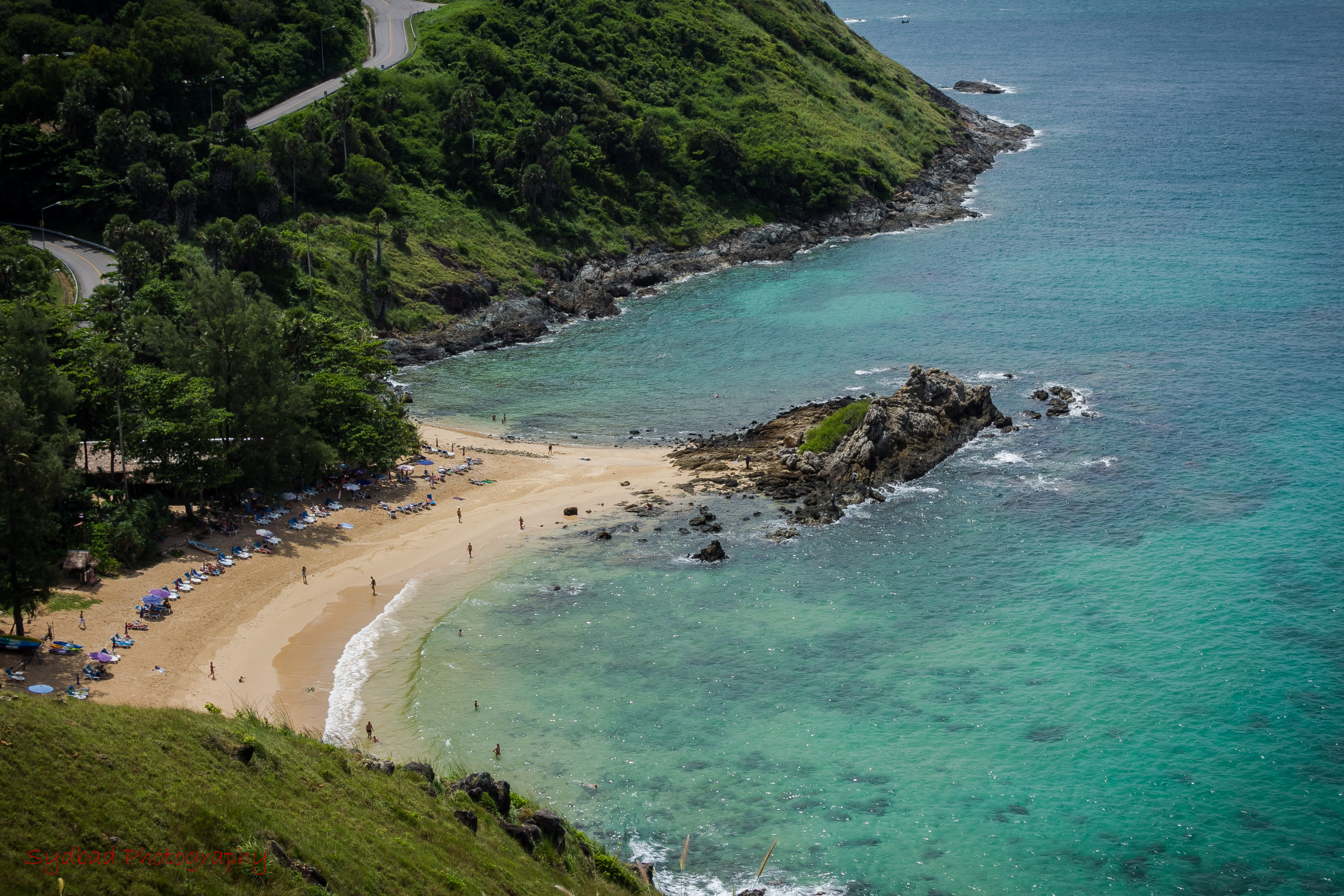 Aerial view of Kata Noi Beach - things to do in Phuket
