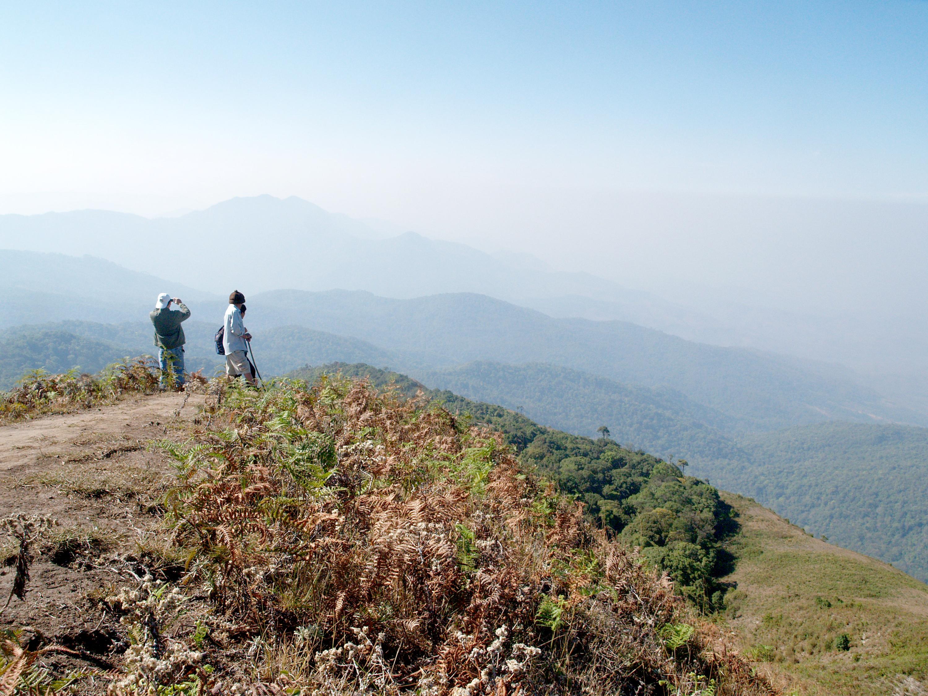Mountain, Doi Inthanon national park