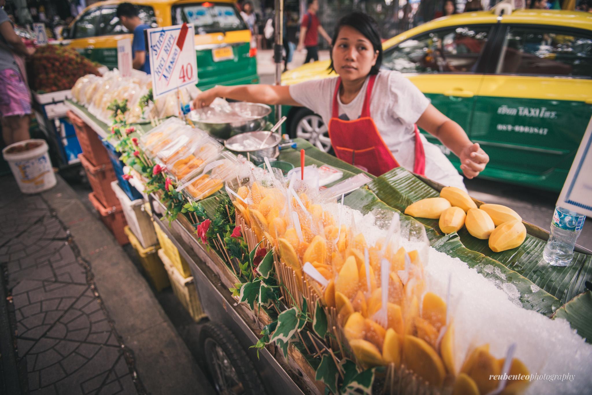 Mango sticky rice at Mai Sai Thong - things to do in Pattaya