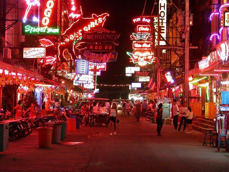 Walking street Pattaya - things to do in Pattaya