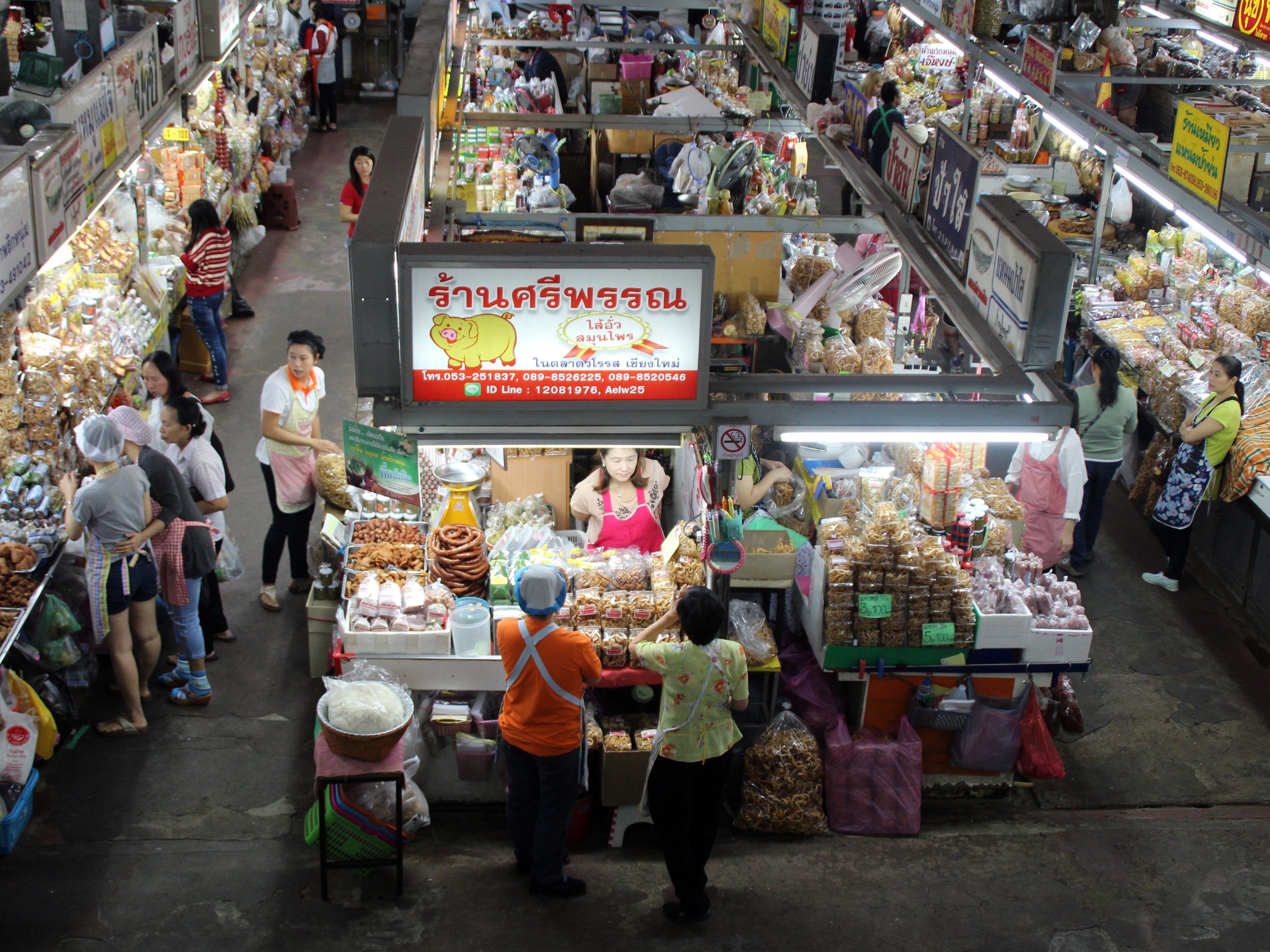 Warorot Market - Things to do in Chiang Mai